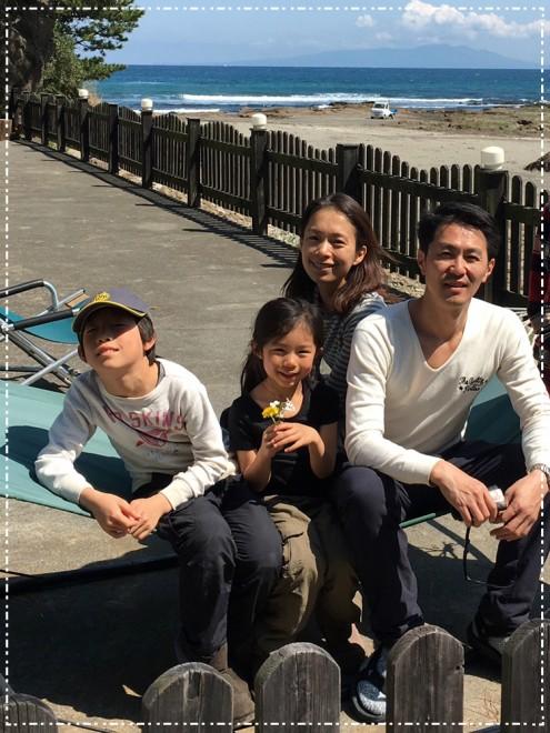 休日は必ず家族で出かけるというアウトドア派(photo:AYUMI)