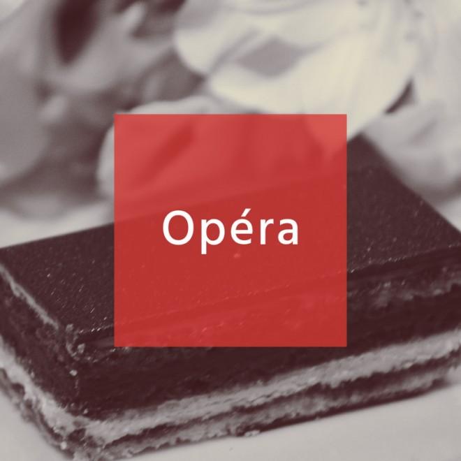 オペラの上品な味わいとショコラの濃い味に負けないビールって…?