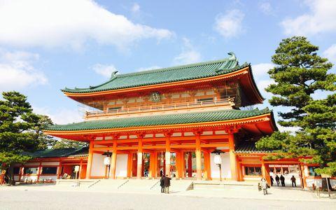 ■ピリっとした空気のなかで京都の社寺を参拝するのも気持ちいい!