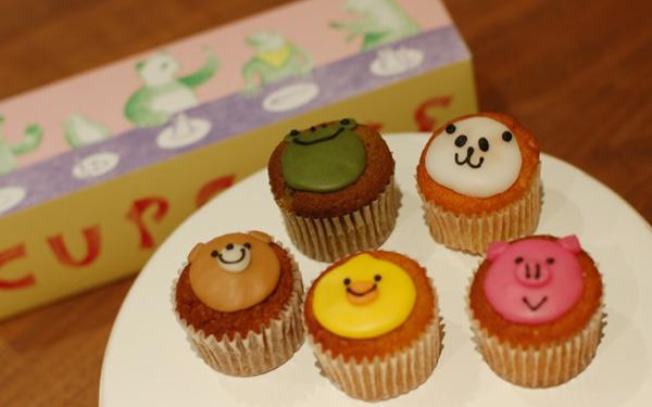 女子度高し! 「フェアリーケーキフェア」動物カップケーキの手みやげ