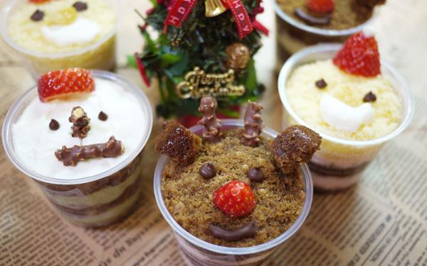 クリスマスに食べたい! 見た目も可愛いカップティラミス
