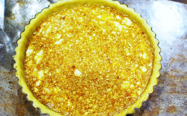 ココナッツオイルを隠し味に。生姜の香る絶品ハニージンジャータルト(タルト生地も紹介)