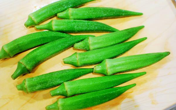 夏野菜のオクラがおいしい! 新感覚コロッケ