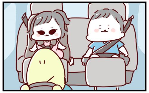 ある日、甥と姪、彼らの母親である私の姉の3人で車に乗っていた時のこと。