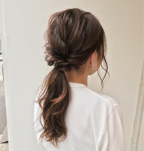 サムネイル 【ロング専用ヘアアレンジ】結婚式から仕事まで使えるアップヘア