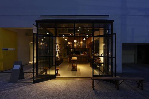 souen櫻井焙茶研究所。空間デザインはSIMPLICITYが手がけている