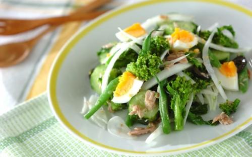 サムネイル 春のグリーンで食欲アップ! 春野菜たっぷりレシピ5選