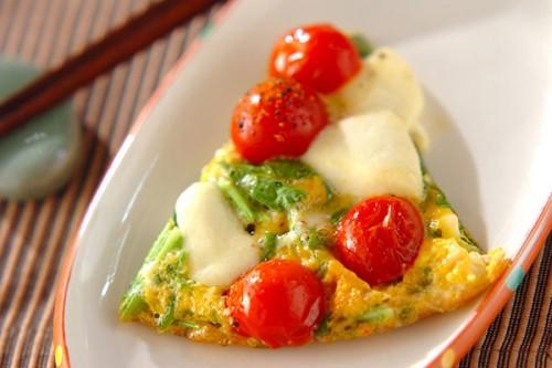 サムネイル とろ〜りチーズとの相性もたまらない! プチトマトのミニオムレツ