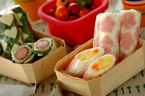 サムネイル かわいい&食べやすい! ピクニックにぴったりの「ロールサンド」