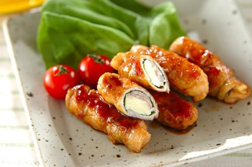 サムネイル 甘辛タレで仕上げる! 「豚肉のチーズ巻き巻き」