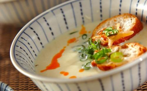 ダイエット中にも最適、手軽に作れる台湾風豆乳スープ