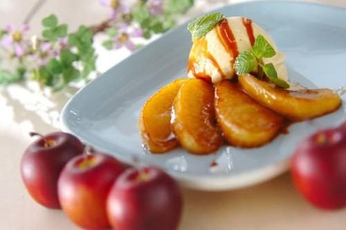 サムネイル 意外と簡単なおもてなしスイーツ! 「リンゴのキャラメリゼ」
