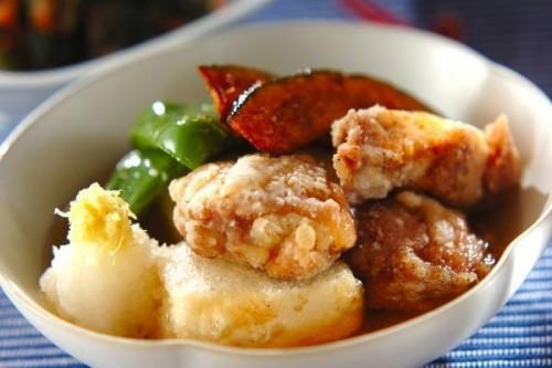 サムネイル コスパもお腹も大満足!「鶏肉と豆腐の揚げだし風」