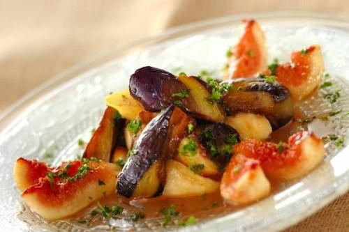 サムネイル オシャレでおもてなししたくなる料理! 「焼きナスとイチジクのマリネ」