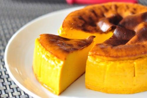 サムネイル ミキサーで作る! 「かぼちゃのチーズケーキ」