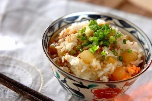 大根とツナの混ぜご飯