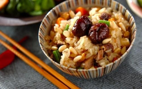 具材の風味が美味しさを引き立てる! 炊飯器で「中華おこわ」