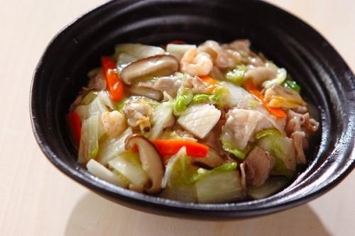 かんたん!たっぷり白菜の中華丼