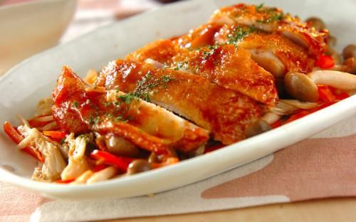 使う調味料はたった2つ、失敗知らずの「鶏もも肉のケチャップ焼き」