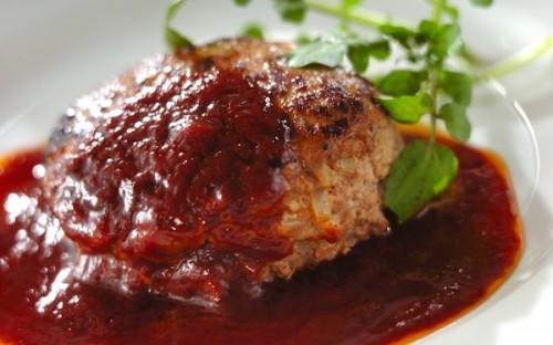 合いびき肉と豆腐をミックス、栄養価が高い「豆腐入りハンバーグ」