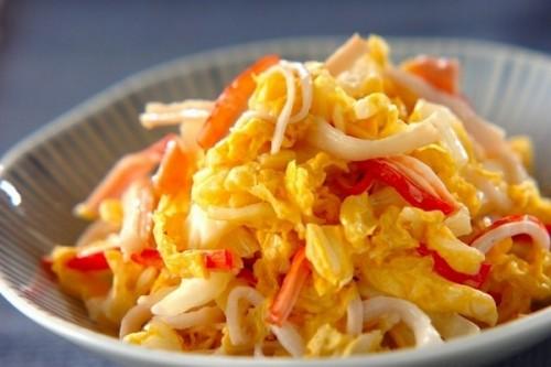 サムネイル 高たんぱくで低カロリー!「カニカマ」で作る副菜としっかりおかず&主食レシピ