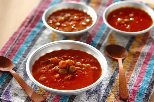 ツナと豆のココナッツカレー