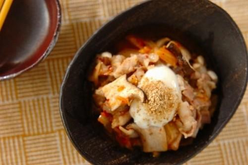 レンジ豚キムチ