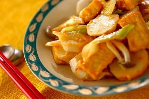 里芋のコチュジャン炒め