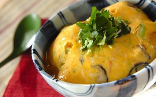 10分で作れる夜食ならコレ、あっさりとした味わいの「和風天津飯」