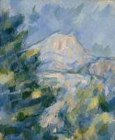 ポール・セザンヌ「サント=ヴィクトワール山」1904〜1906年制作 Bequest of Robert H. Tannahill