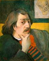 ポール・ゴーギャン「自画像」1893年制作 Gift of Robert H. Tannahill