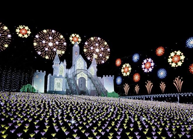 【あしかがフラワーパーク『光の花の庭〜フラワーファンタジー2017〜』】期間:2017年10月21日(土)〜2018年2月4日(日)/栃木・足利