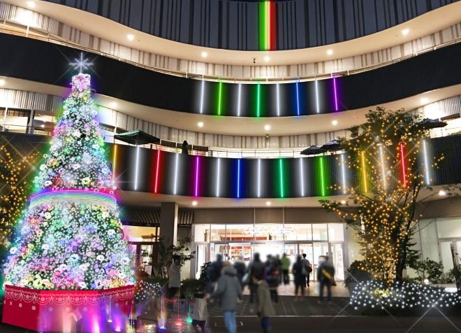 【『コクーンシティイルミネーション2017』】期間:2017年11月3日(金・祝)〜2018年2月14日(水)/埼玉・さいたま新都心