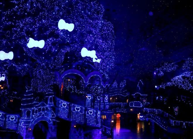 【サンリオピューロランド『ピューロクリスマス』】期間:2017年11月10日(金)〜12月25日(月)/東京・多摩