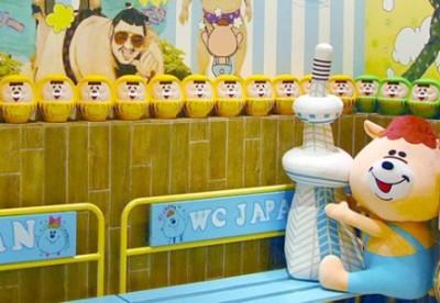 【w♥c(ダブルシー)】は下町っぽく、銭湯をモチーフした店内がかわいい!