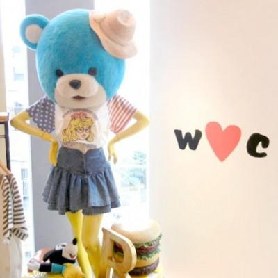 w♥c 2012 A/W 展示会に行ってきました!