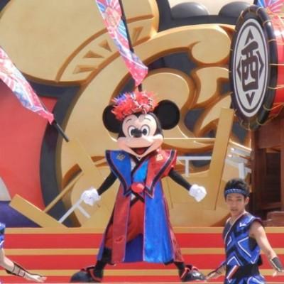"""東京ディズニーランドのスペシャルイベント『ディズニー夏祭り』ミッキーマウスの衣装も""""和""""!!"""
