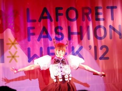 LAFORET FASHION WEEK'12初日<br>きゃりーぱみゅぱみゅライブ