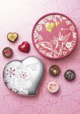 バレンタイン限定『メサージュショコラ コレクション』<br>【2014年1月8日?2月14日まで発売】