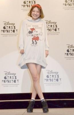 ディズニーのガールズキャラクターがデザインされたファッション