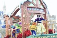 【東京ディズニーランド】「ディズニー・クリスマス・ストーリーズ」の様子