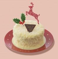 クリスマスダブルチーズケーキ(税込1296円)/銀座コージーコーナー