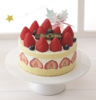 紅ほっぺのデラックスSクリスマス(5号:税込7560円)/銀座コージーコーナー