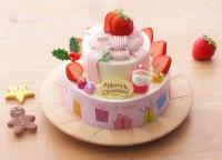 苺のプレゼントボックス(5号:税込3780円)/銀座コージーコーナー