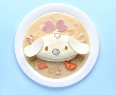ミルクのホワイトオムシチュー/1300円(キャラクターフードコートにて販売)