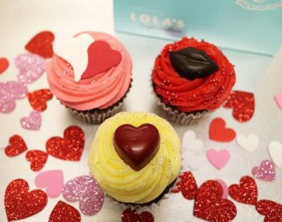 「ローラズ・カップケーキ 東京」のバレンタインスイーツ