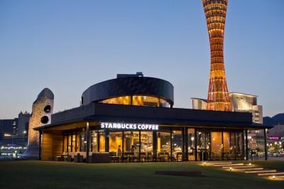 神戸港から市内の街並みまで360度景色が見渡せる贅沢空間