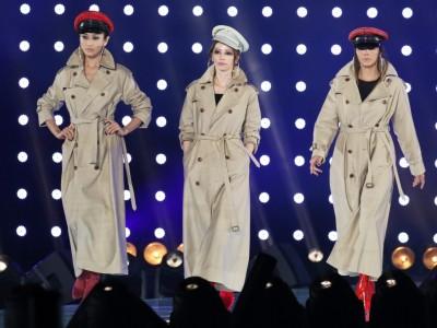 写真左から山田優、香里奈、土屋アンナ