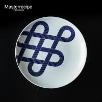 Masterrecipe「有田 皿 結び L」(税込3200円/Francfranc)