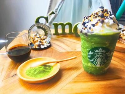 8月8日から発売される「抹茶スモアフラペチーノ」税抜590円